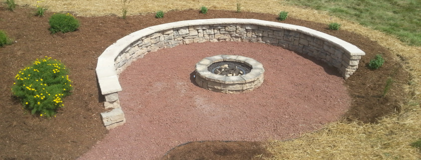 Houin firepit top view