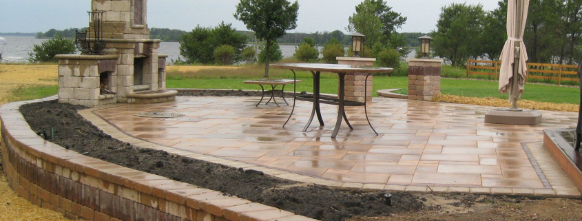 Beautiful Patio Installation