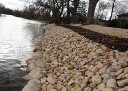 Shore Line After Landscaping photo
