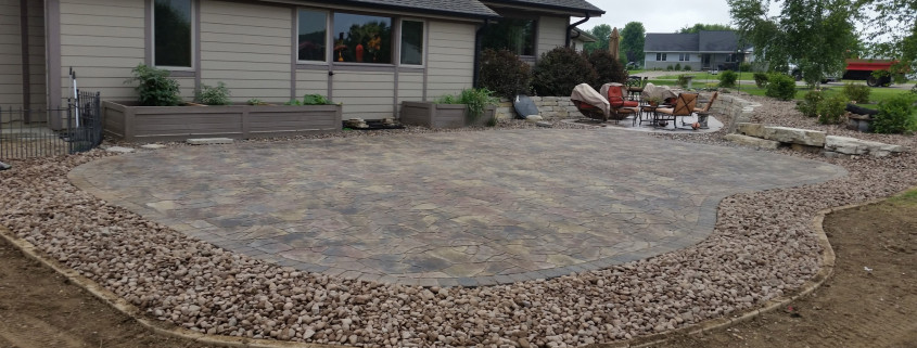Muskego Patio Installation