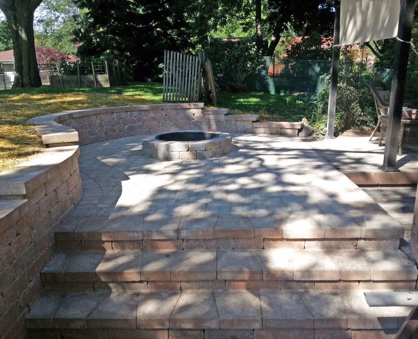 Paver Patio Union Grove