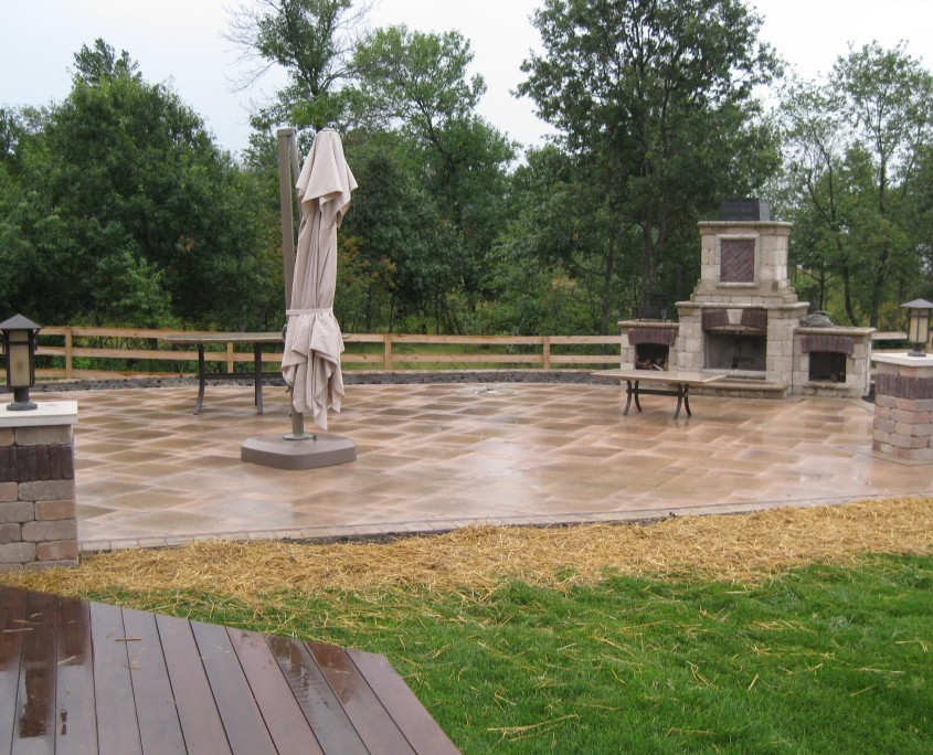 Paver Patio Burlington WI