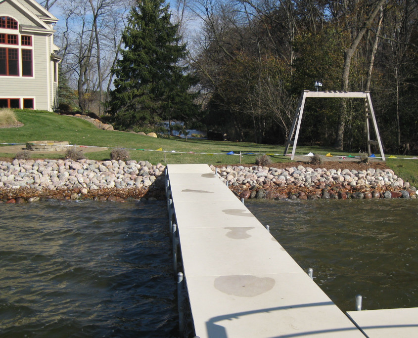 Delafield Shoreline Restoration AFTER