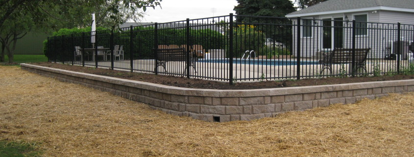 Pool Wall Installation After