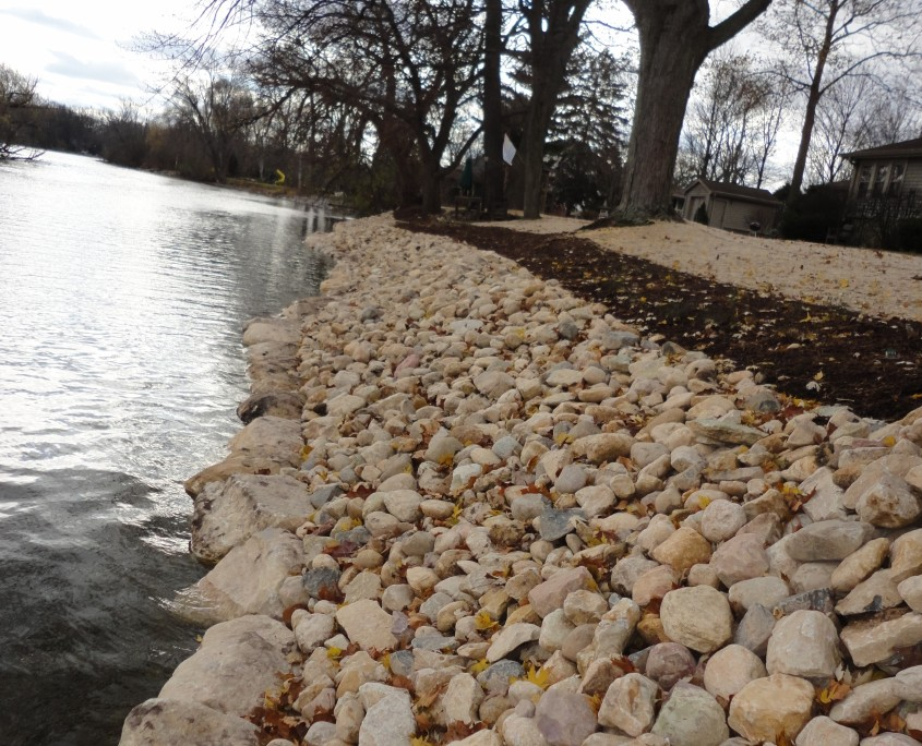 Shoreline Restoration After Lake Geneva