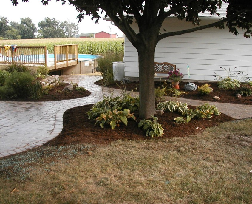 Flower Bed Landscaping Burlington