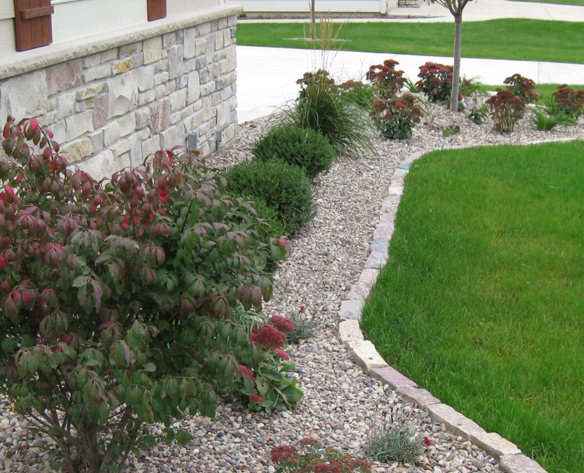 ewald side landscaping