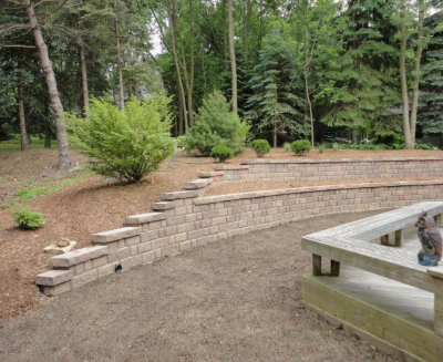 Retaining Wall Installation Burlington, WI