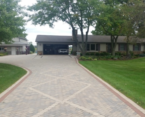 Pave Driveway Installation Burlington, Wisconsin