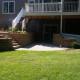 Back Yard Patio, Retaining Walls and Landscaping
