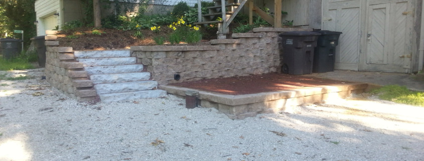 Side Steps and Step Wall Installation