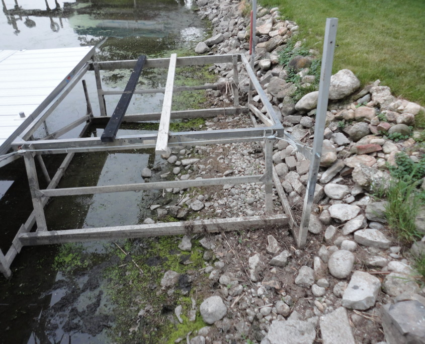 Eroded Shoreline Restoration Services Burlington, WI