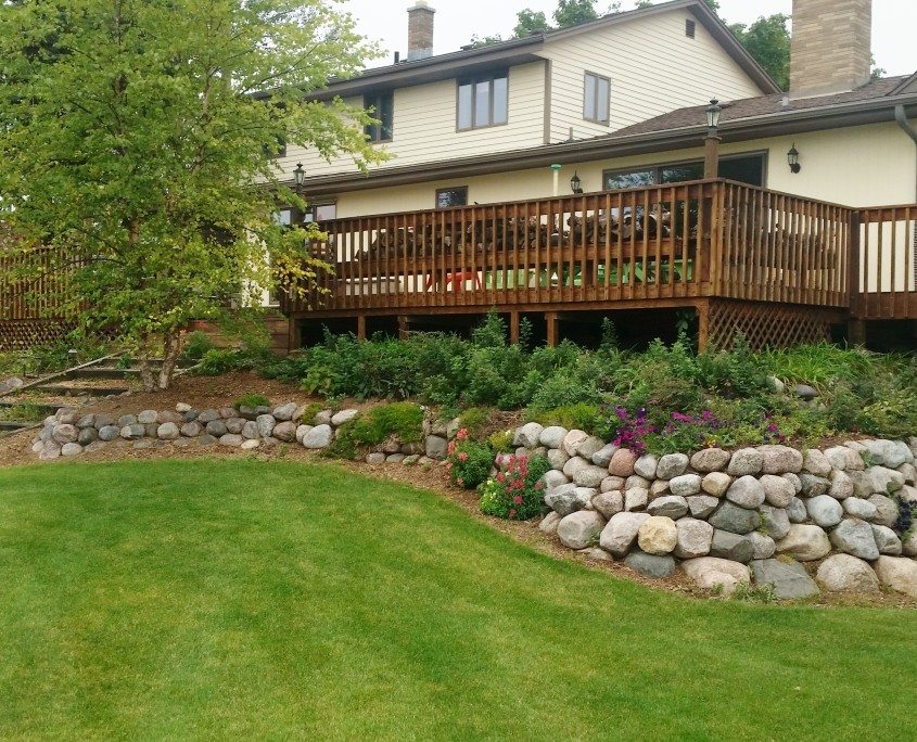 Union Grove Landscaping Before