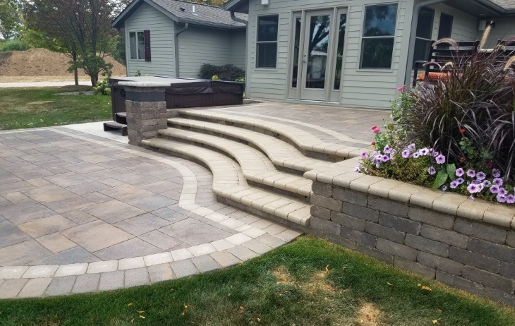 Custom Hardscapes Burlington, Wisconsin